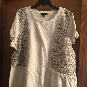 Lane Bryant dress t-shirt 26/28